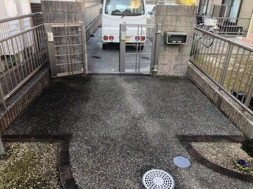 春日井リペイント 土間・駐車場バイオ洗浄サービス工事