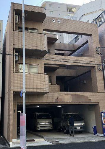 春日井市 アパート塗装・防水 現地調査