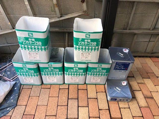 春日井市T町H様邸 外壁塗装工事・防水工事