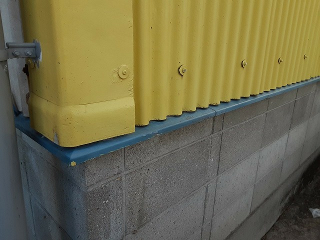 春日井市A町 株式会社U様 外壁カバー工法・鉄部塗装工事
