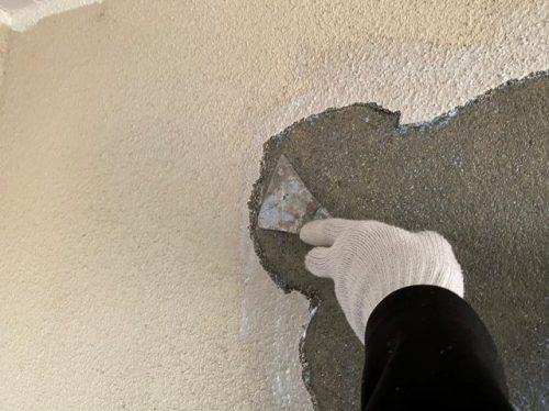 塗料の浮きや剥がれの補修方法