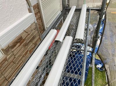 春日井市 外壁塗装 ダクトカバー
